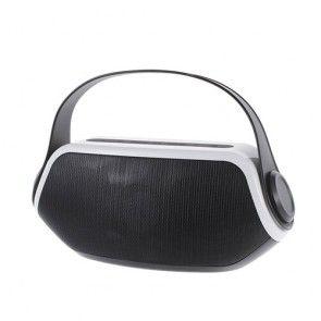 YM-306 Vandtæt Bluetooth Højtaler m/Mikrofon - Sort