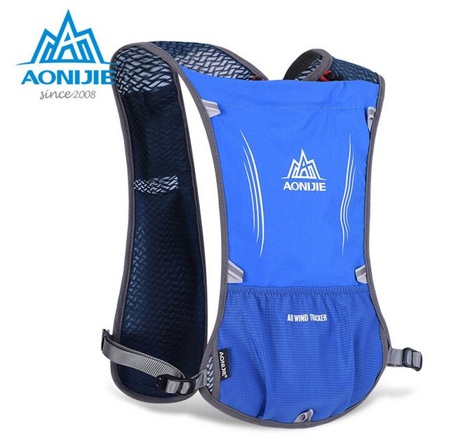 US $25.35 AONIJIE Lightweight Men Women Outdoor Trail Running Marathon Riding Hydration Backpack Sport Bag With 1.5 L Water Bag