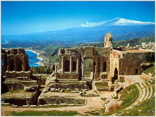 Teatro griego en Taormina