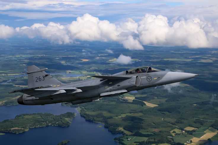 saab jas 39 gripen for mac 2048x1365