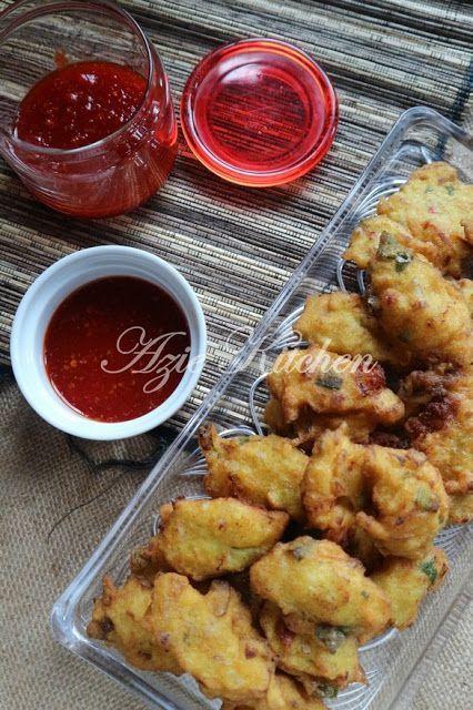 Cucur Udang Sedap Azie Kitchen Resep Masakan Resep Masakan