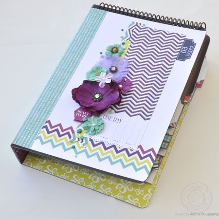 Wishful thinking waterfall  by jamie dougherty using prima wishes and dreams collection
