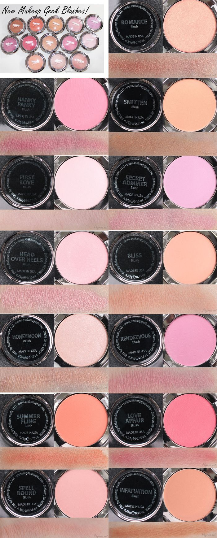 New Makeup Geek blush review by Phyrra!