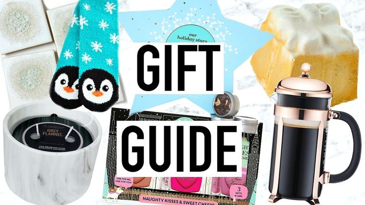 Holiday Gift Guide 2016 + HOLIDAY GIVEAWAY!