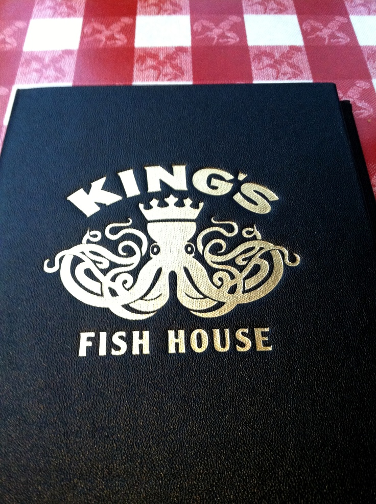 Restaurant logo at king 39 s fish house in calabasas ca for King s fish house