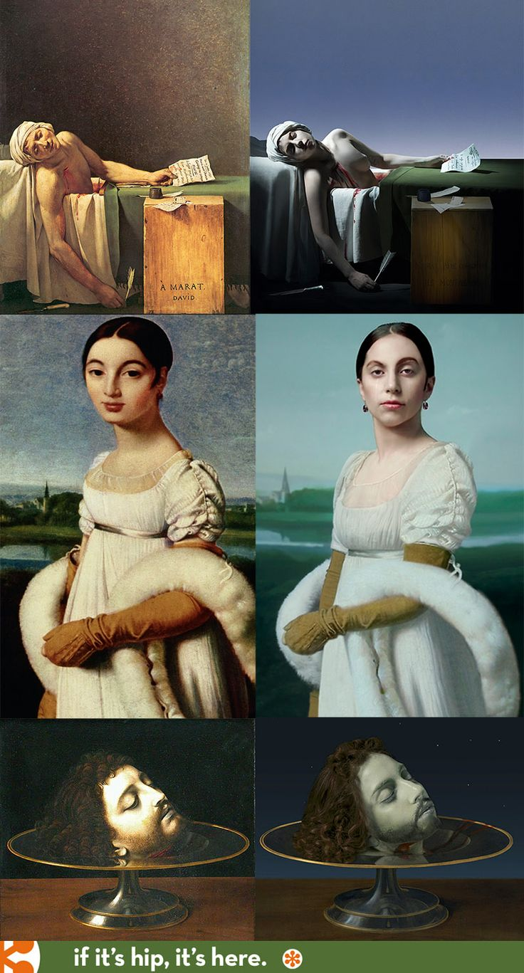 Lady Gaga Morphs Into Classic Paintings in Video Portraits by Robert Wilson.