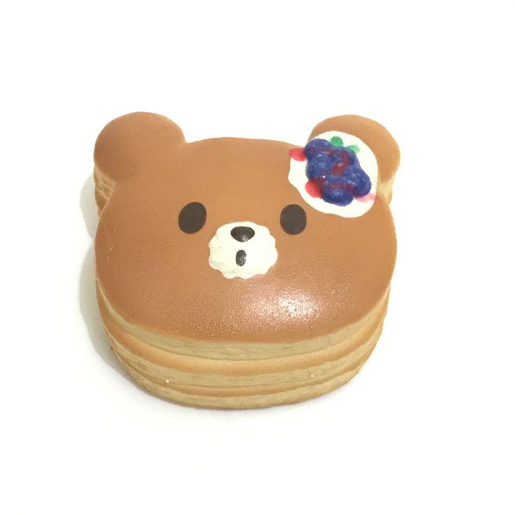 وصل جديد 7 سنتيمتر بوني مارو البسيطة الدب الفطائر سوبر ارتفاع بطيء لعب اسفنجي الخبز squishies بالجملة شحن مجاني