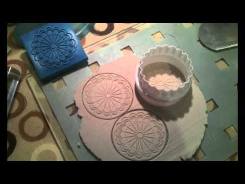Tutorial for making lights and ceiling roses for your dollhouse