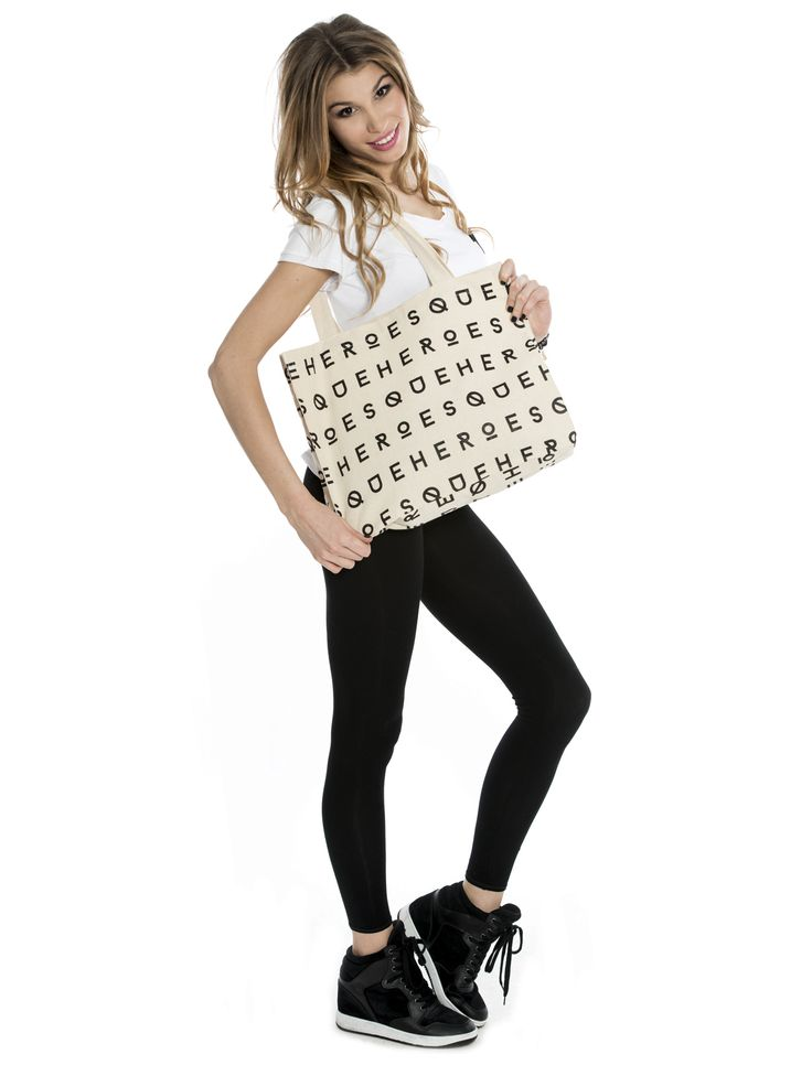 HEROESQUE ALL OVER TOTE