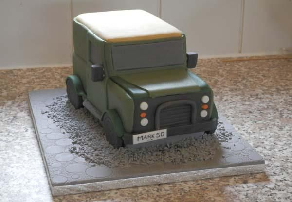 #Beccles Cake Makers. Love the challenge of novelty cake design!! Heres our #LandRover cake, a rich moist fruit cake.