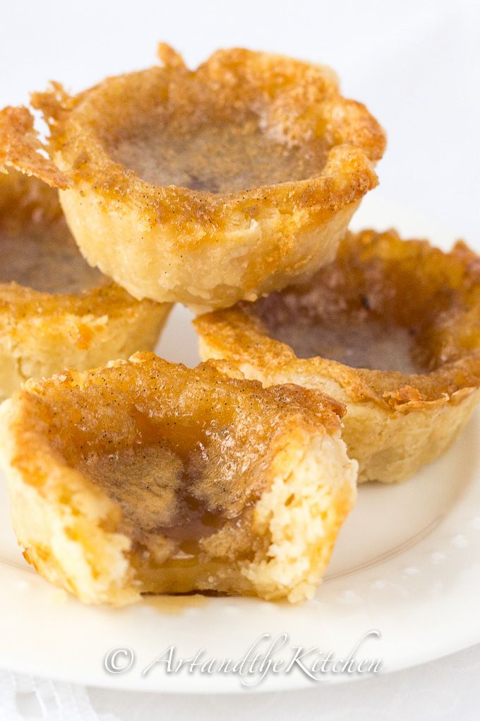 Christmas just wouldn't be the same without being able to indulge in a good Old Fashioned Butter Tart. The perfect butter tart recipe with sweet, slightly runny filling and flaky melt in your mouth pastry.
