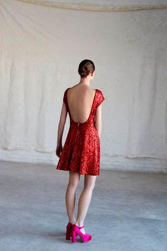 pretty: Fashion, Red, 2012 2013, Dress, Fall 2012, Sparkle, 2012 Lookbook, Asos Fall