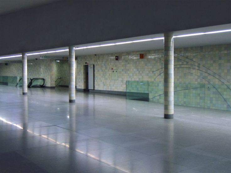 Siza Vieira   Porto   Metro do Porto / Oporto Underground   Estação de / Station of S. Bento   2005 #Azulejo #AzulejoDoMês #AzulejoOfTheMonth