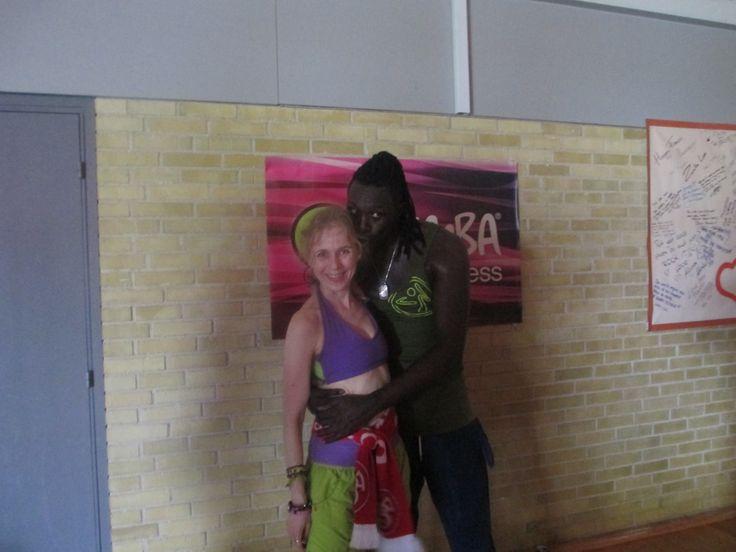 Mo Diakite & me :)