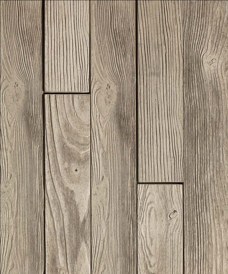 Look closer; this is not wood! It's our #Borealis trompe-l'oeil, the best product to create your perfect Modern Rustic Backyard Style