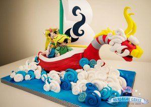Legend Of Zelda Wind Waker King Of Red Lions Boat Cake | Geekologie