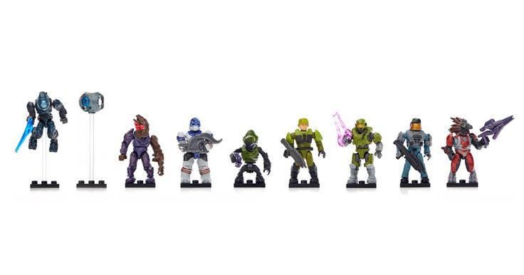 Micro Action Figures Bravo Series