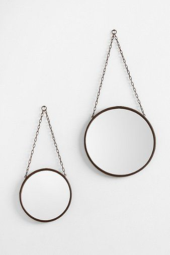 BEDROOM  Industrial Wall Mirror | Urban Outfitters