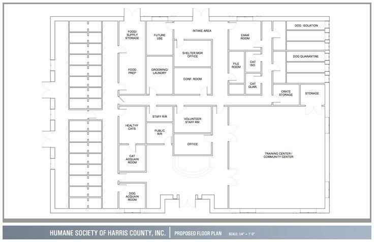 Dog Care Facility Floorplans
