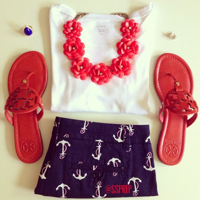 Sweet Southern Prep. Adorable 4th of July outit!