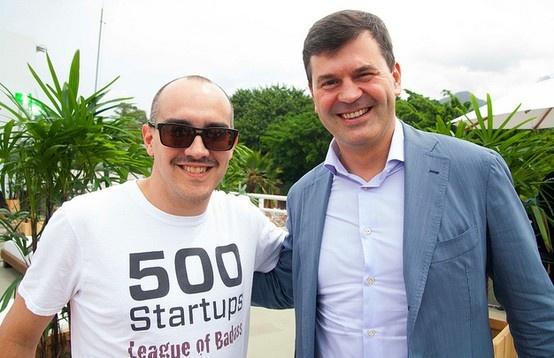 Dave McClure 500Startups & Komissarov @Gec2013 in Brazil