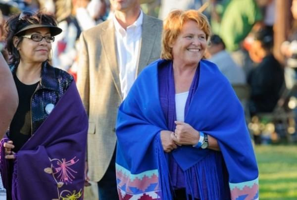 Trump Can't Touch Indian Gaming, Says Sen. Heitkamp - ICTMN.com Indian Country Today Media Network recently interviewed U.S. Sen. Heidi Heitkamp (D-N.D.), a member of the Senate Committee on Indian Affairs and an advocate for Native American youth issues