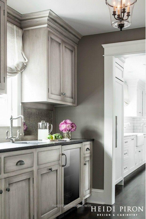 Splendid gray kitchen design idea 56  The post  gray kitchen design idea 56…  appeared first on  Nenin Decor .