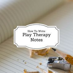 There are many different resources out there regarding how to write progress notes in play therapy. It can get really confusing when your site doesn't align with how play therapy leaders write note…