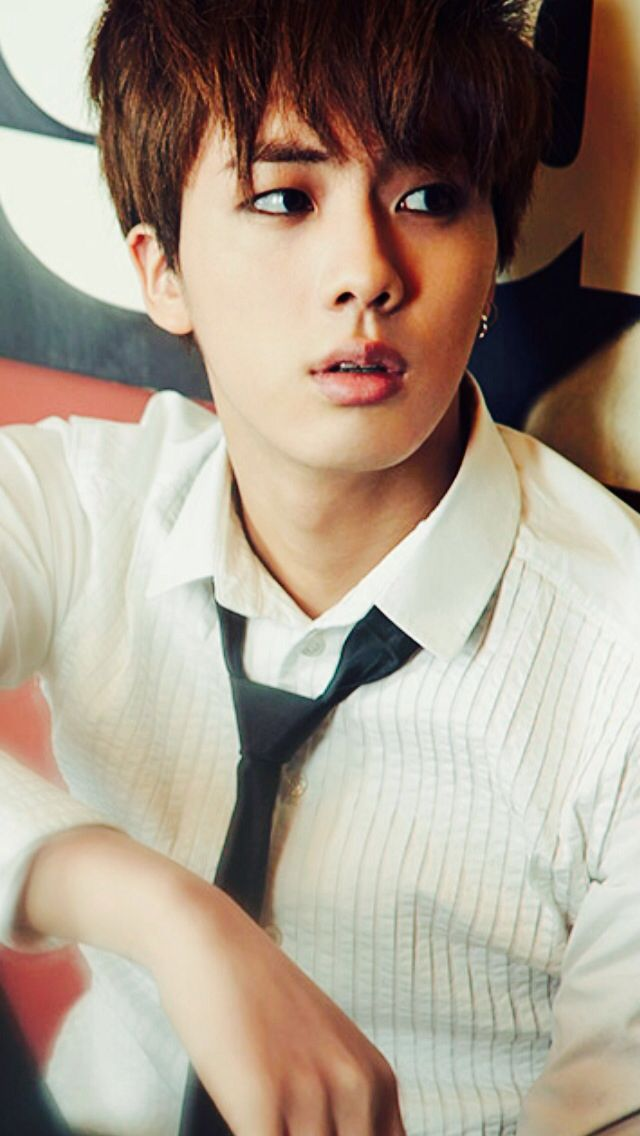 Skool Luv Affair - Jin. those lipsss