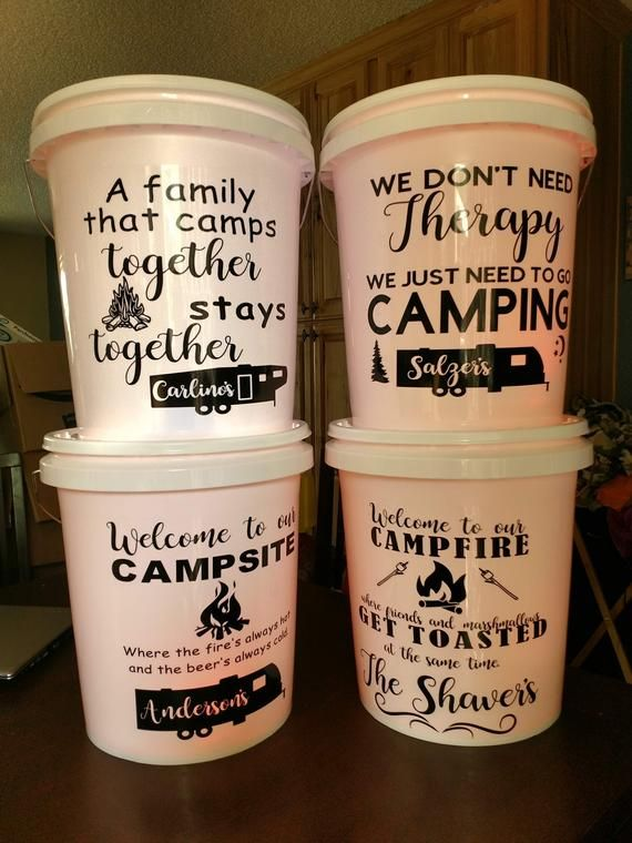 Five Gallon Bucket With Lid Fully Customizable And Includes A