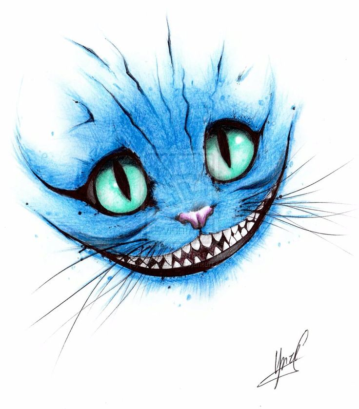 Cheshire Cat by ~13Spooky on deviantART
