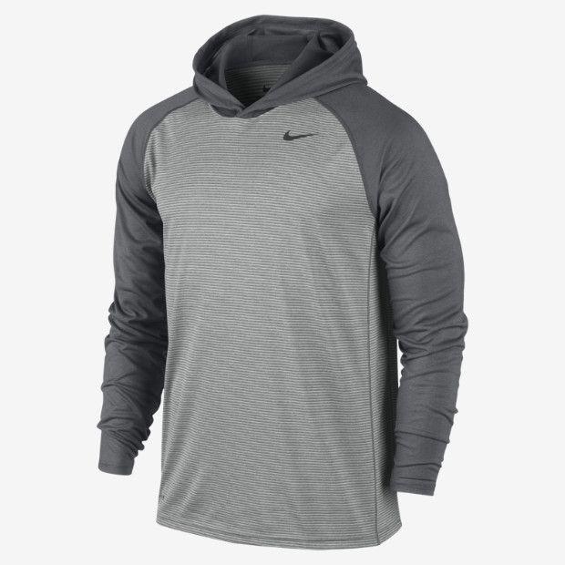 Nike Dri-FIT Touch Long-Sleeve – Sweat à capuche de training pour Homme