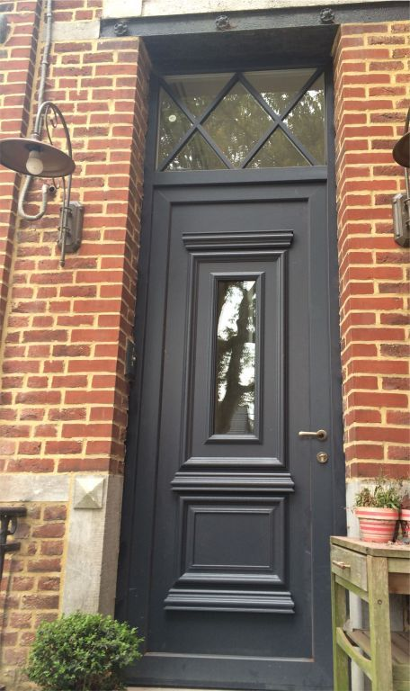 Be-Window zwarte voordeur.