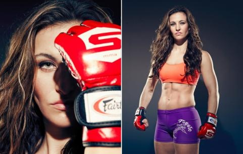 Get fit for sexy MMA fighter Miesha Tate... or get your ass kicked.