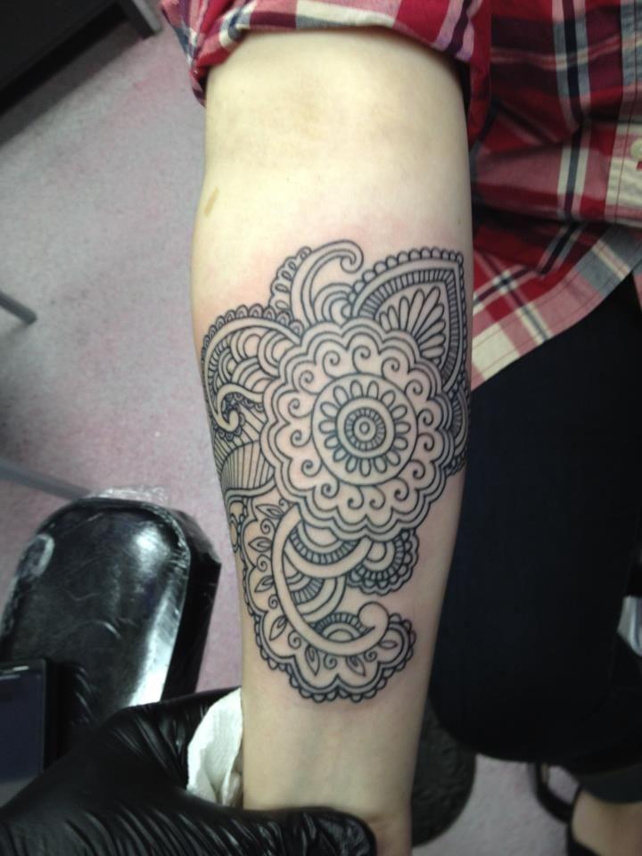 Mandala Design Henna Art Stock Vector 55477189 Shutterstock Images