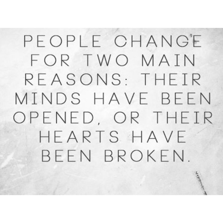 My mind was open. My heart would never be broken over people that don't give a damn about me.