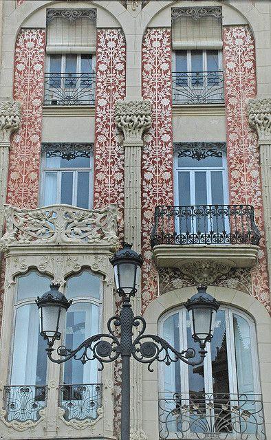 Casa del Punt de Ganxo.  #Valencia #Spain