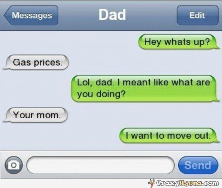 Hilarious+dirty+Dad+text+message.+ Hey+whats+up?+ Gas ...