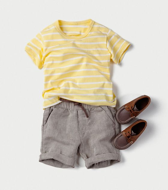 Adorable for baby boy in the summer