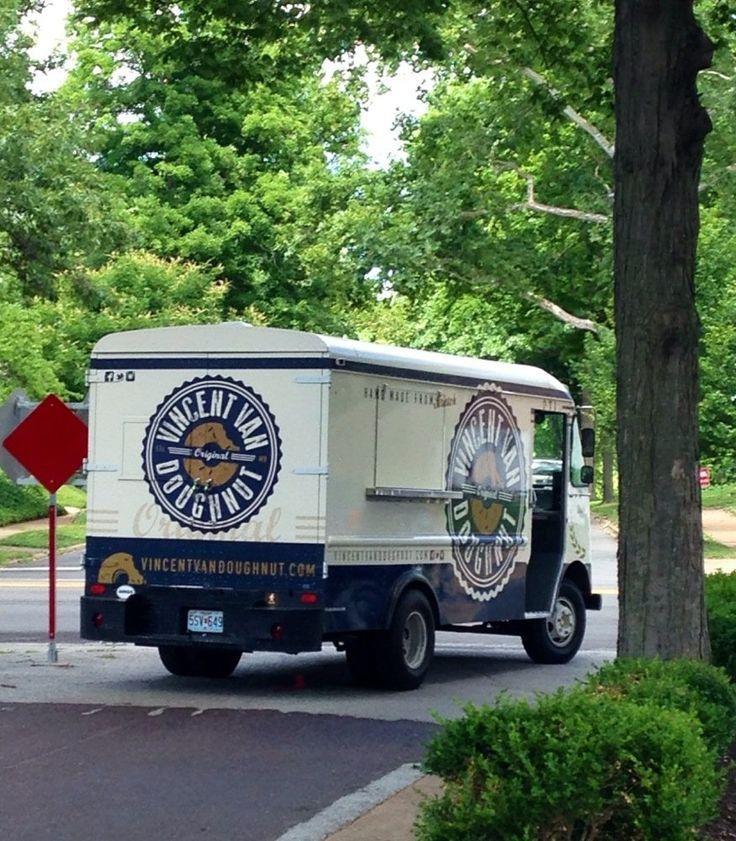 Vincent Van Donut, yelp: ST.Louis's donut truck. #St_Louis #Food_Truck #Donuts