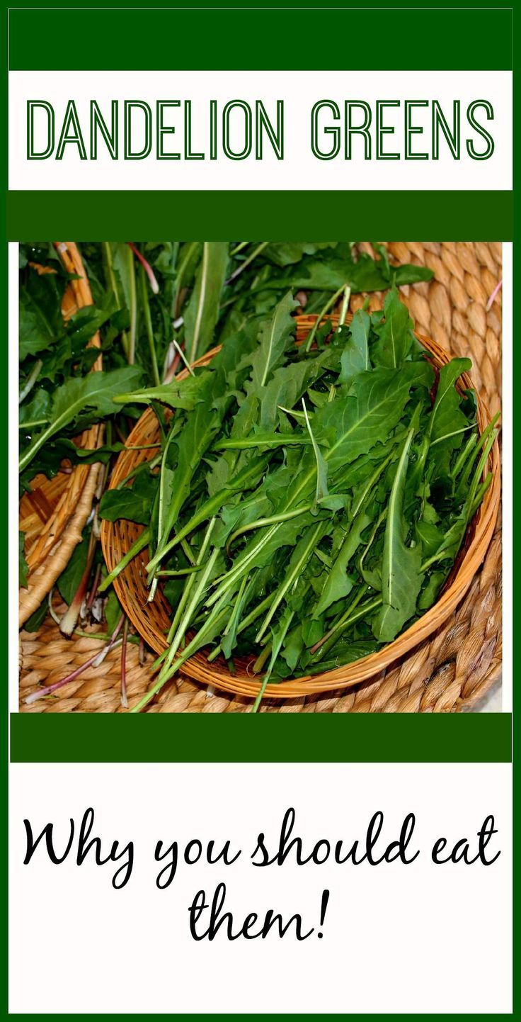 Why You Should Eat Dandelion Greens! livingawareness.c...