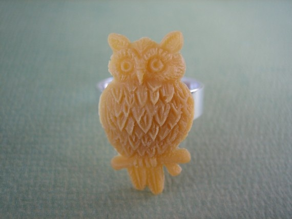 I already own an owl ring, is it bad that I want more? $7