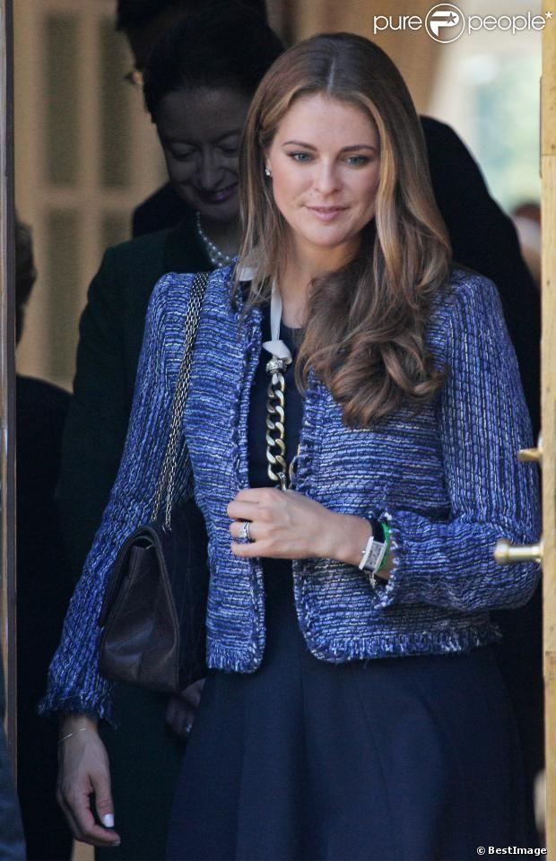 PHOTOS - La princesse Madeleine de Suède, enceinte, lors de l'hommage rendu le 8…