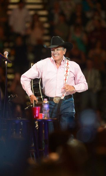 George Strait Photos Photos - George Strait performs during The Cowboy Rides Away Tour at Philips Arena on March 22, 2014 in Atlanta, Georgia. - George Strait and Sheryl Crow