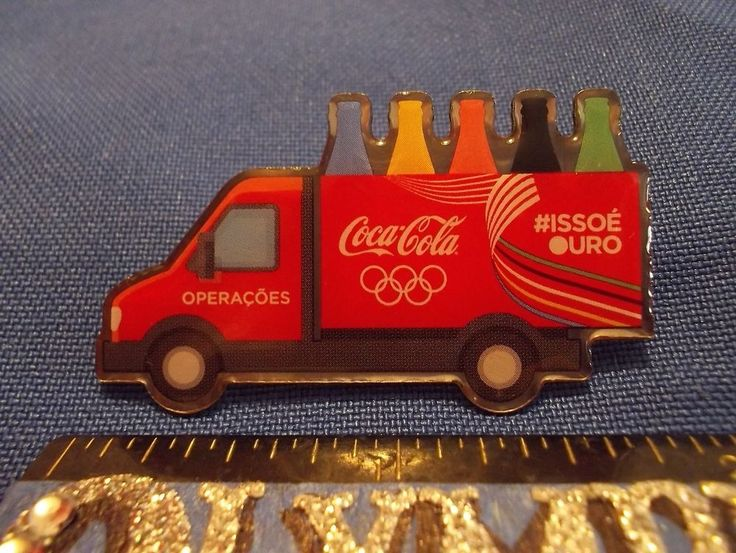 2016 Rio Olympic Sponsor Pin Coca Cola Truck Only for Staff Pin #ISSOE URO