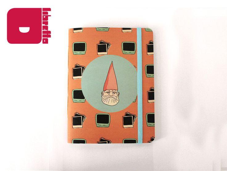 Série Amabilité (por Arthur Reis e Letícia Naves) | Sr. Gnomo - Libretto | Cadernos com personalidade! Para comprar acesse: http://loja.meulibretto.com/serie-amabilite-ct-4c4a7