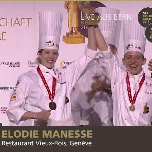 Elodie Manesse et Robin Bessire remportent le Concours du Cuisinier d'Or 2017  FELICITATIONS à vous deux !!! l'EHG est fier de vous  #ehg #ecole #formation #geneve Der Goldene Koch / Le Cuisinier dOr #geneve  #geneva  #lakegeneva #lacleman #restaurant #ehg  #EHGLife #ecole #ecolehoteliere #ecolesuisse #soleil #hotelschool #swisshotelschool #hotellerie #swissriviera #switzerland  #lac #riviera  #genevalake  #visitgeneva  #switzerland #winter  #genevacity #lacleman  #igersuisse  #genevalive…