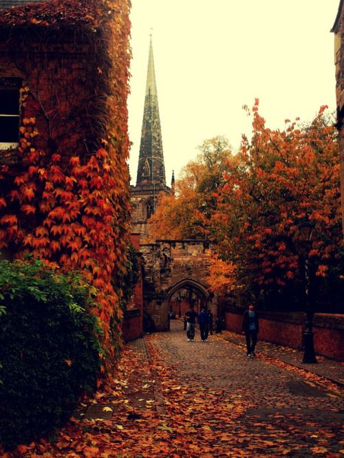 a walk through town