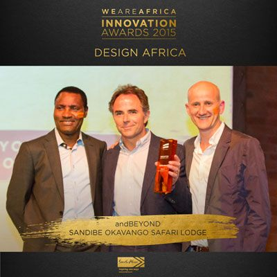 &Beyond Sandibe Okavango Safari Lodge Wins Design Award.