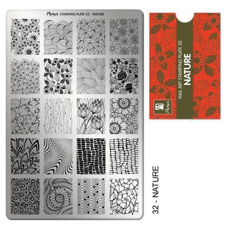 Moyra Stamping Plate 32 - Nature